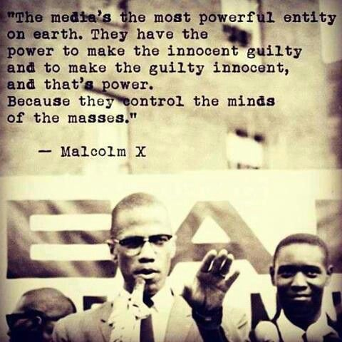 My Breakup with Network News Eclectic Evelyn.com  Malcolm X Quote