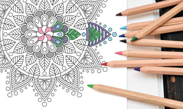 Mandala Adult Coloring Pages: Instant Download
