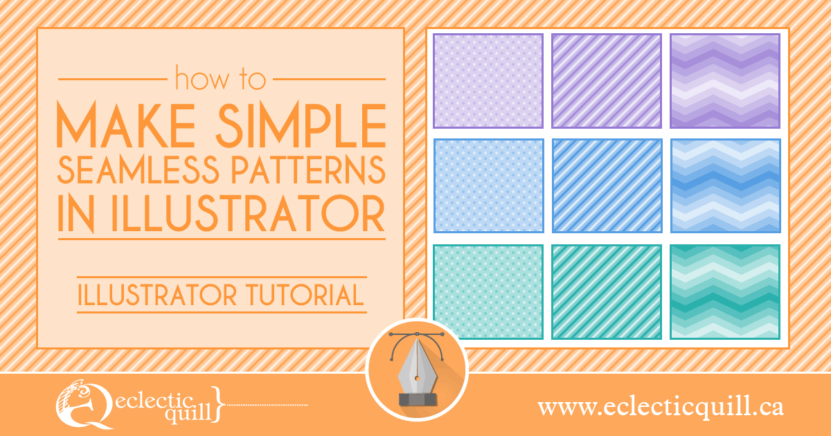 How to Make Simple Seamless Patterns in Illustrator
