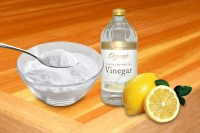 lemon and vinegar cleaner
