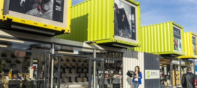 Re:START Shipping Container Mall, Christchurch, NZ