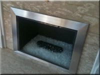 Custom Fireplace Surrounds. Custom metal frames for ...