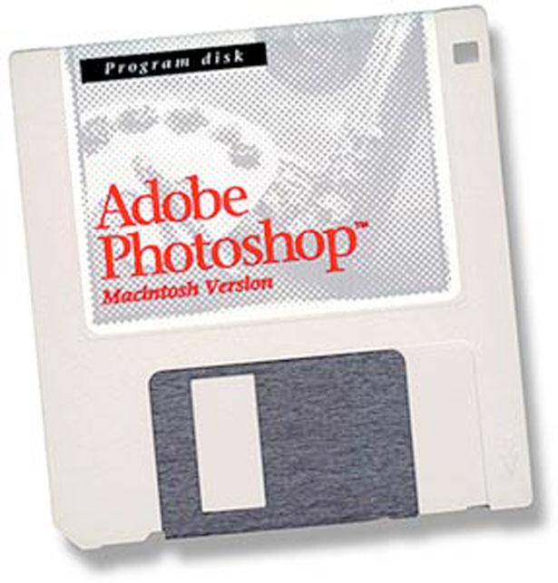 Photoshop completa 26 anos em plena forma!