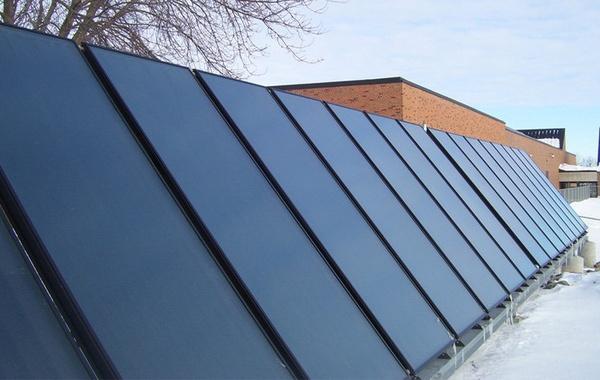 Le chauffe eau solaire, pour chauffer l\u0027eau et la maison - Écohabitation - Panneau Solaire Chauffage Maison