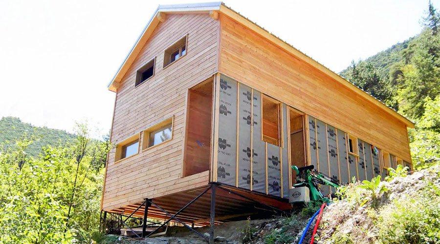 Pour ou contre la construction sur pieux? - Écohabitation - Cout Annexe Construction Maison