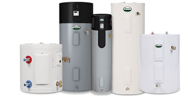 Electric Hybrid Water Heater Heat Pump Ecohome