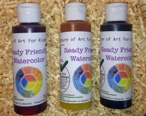 watercolor for children