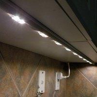 Under Cabinet LED Lighting using LED Modules - DIY LED ...