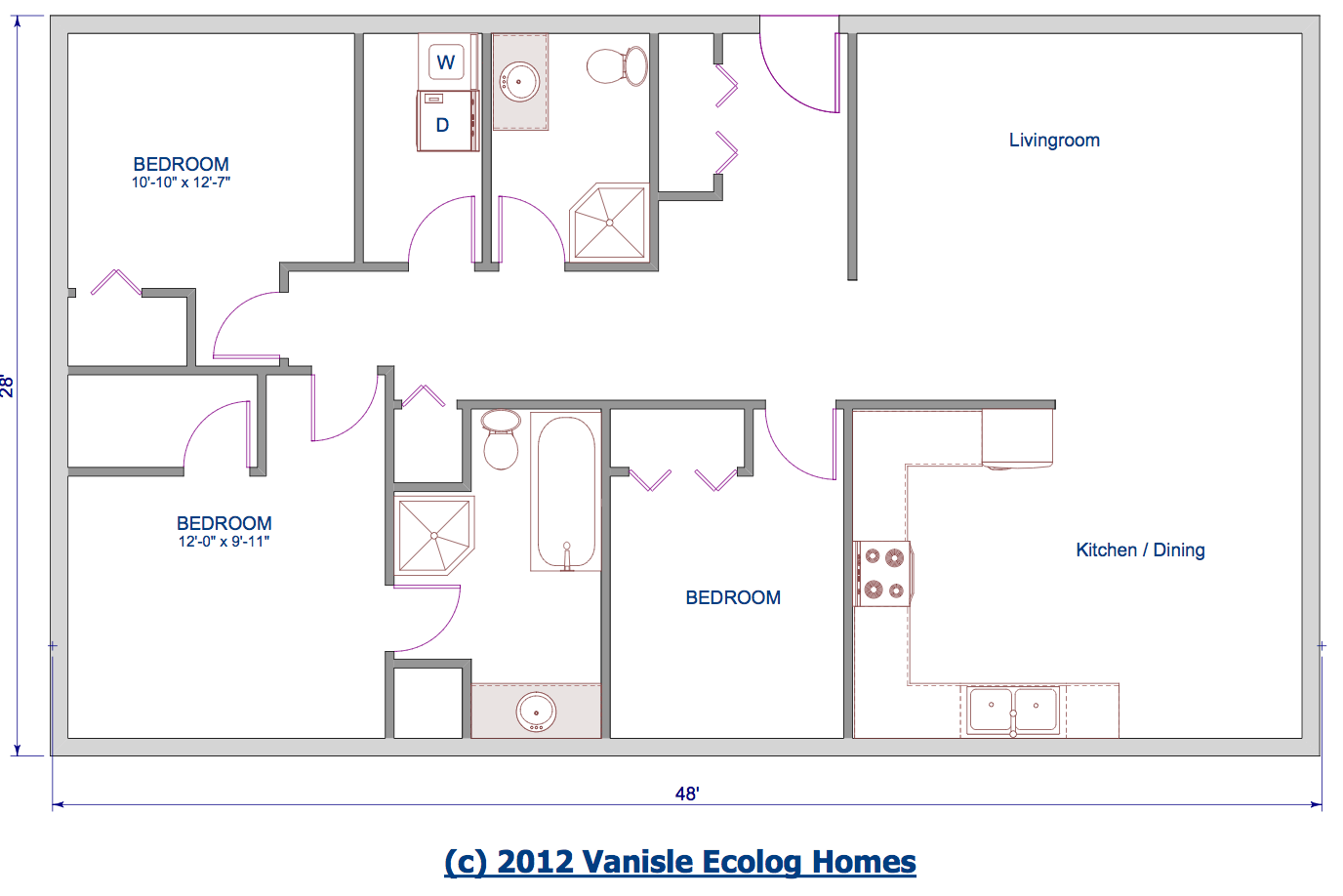 E Level House Plans With Open Floor Plan