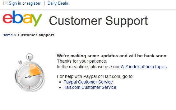 eBay Customer Support from a Seller\u0027s Point of View
