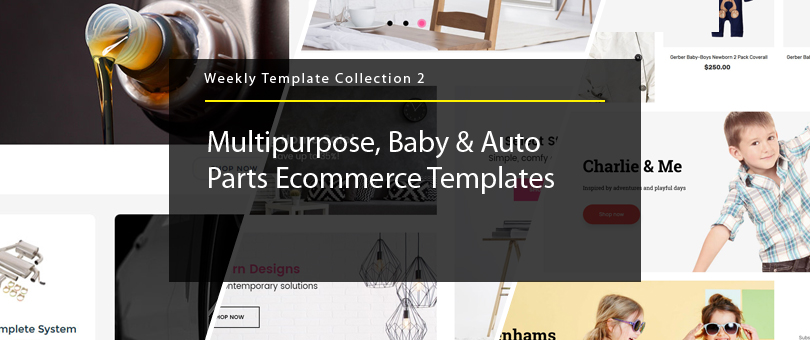 Weekly Template Collection 2 Multipurpose, Baby  Auto Parts