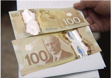 Canada's New Polymer Based $100 Bank Note