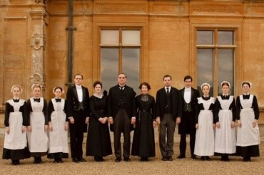 These 12 Downton Abbey servants were a part of a larger staff that would have been close to 25.