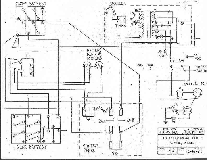 Ezgo Battery Wiring Diagram Model 538600 automotive wiring diagrams