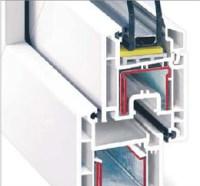 Kunststoff Fenstern und Tren aus REHAU Profilsystemen, 3 ...