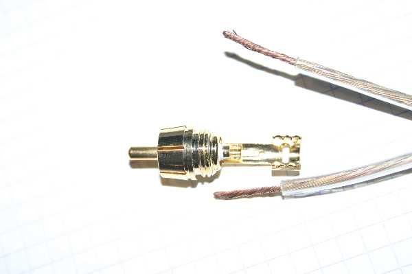 rca to speaker wire diagram