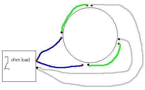 how to wire a quad 2 ohm voice coil sub - ecoustics