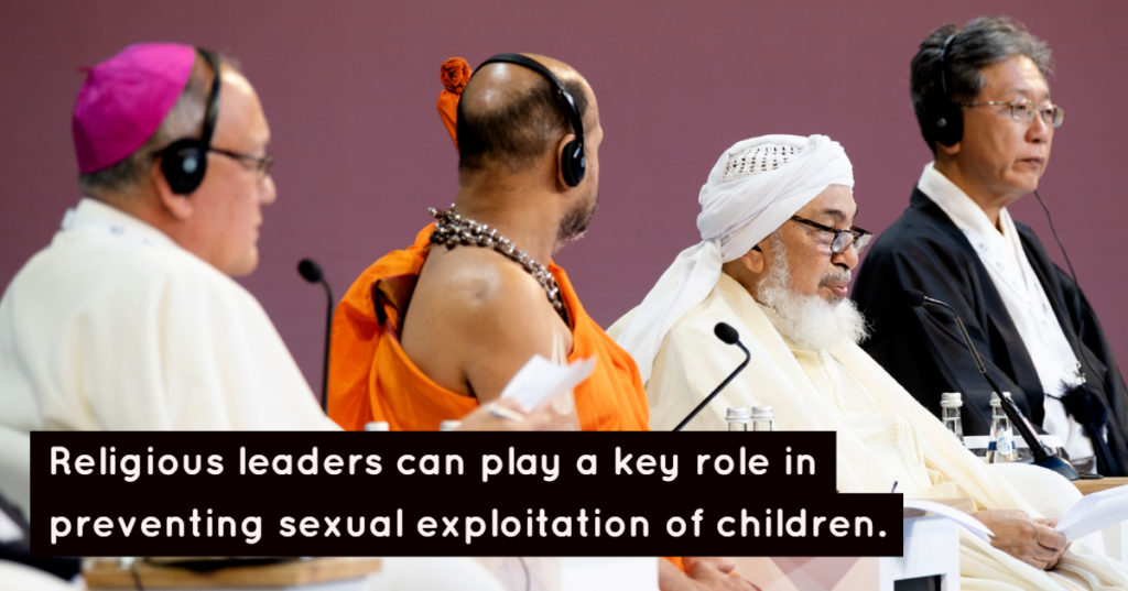 Religious leaders in unique position to end sexual exploitation online