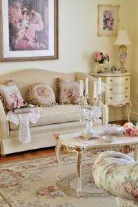 50 Cool Shabby Chic Living Room Decor Ideas - EcstasyCoffee