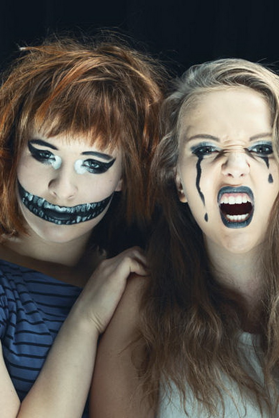 30 Scary And Unique Kids Halloween Makeup Ideas EcstasyCoffee