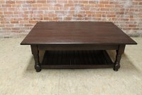 Durable Oak Coffee Table - ECustomFinishes