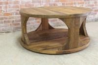 Modern Rustic Coffee Table - ECustomFinishes