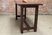 Farm Table in Bar Height - ECustomFinishes