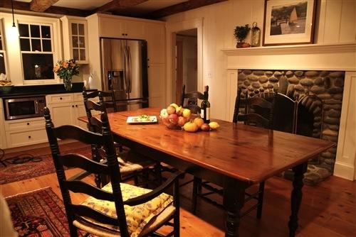 Pine Table With Fruit Wood Finish By Ecustomfinishes