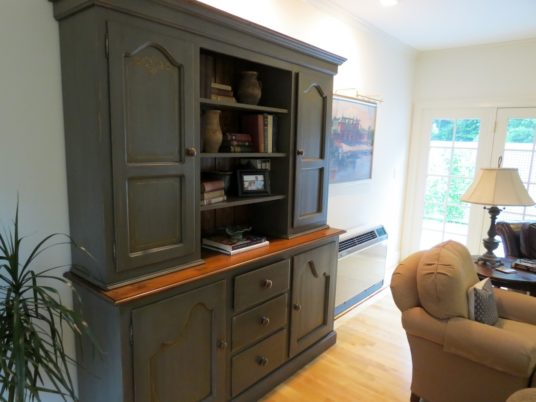 rustic living room hutch Archives - ECustomFinishes - living room hutch