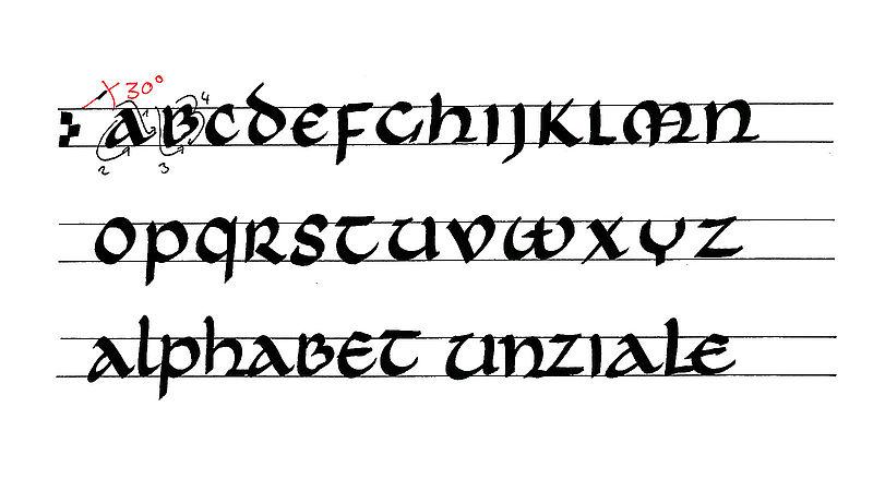 Calligraphy for beginners - edding