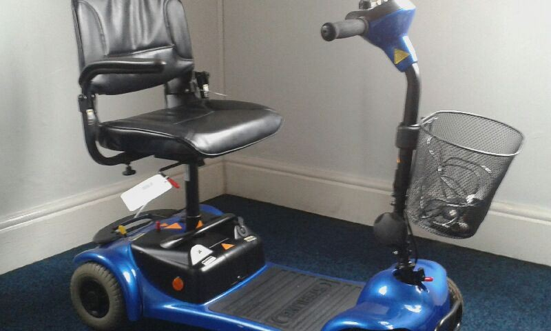 Sterling Little Gem Blue Pre Owned Mobility Scooter