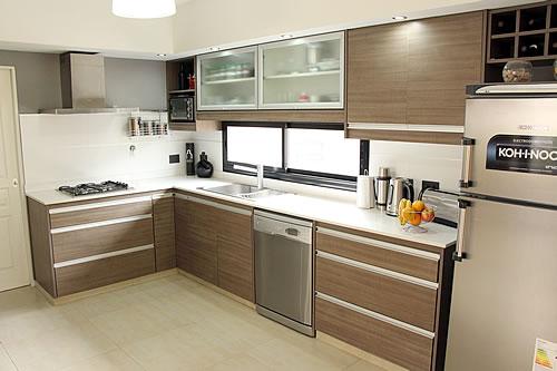 Cocina Integral En Escuadra Mi cocina Pinterest Ideas para - muebles para cocina de madera