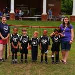The Rowdies - coached by Maggie and Reyna Morris - 3-5 Division.
