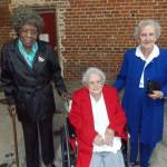 Ms. Lola Burt, Ms. Vivian Edwards and Ms. Mary Edwards.