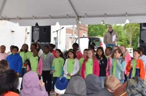 The Johnston Elementary School Chorus was a part of last year's Johnston Peach Blossom Festival.