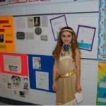 Caroline Wimberly as Pocahontas.