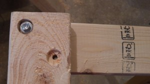 Recessed Holes for Lag Bolts