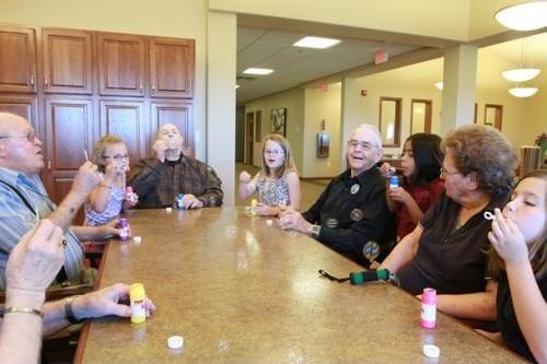 Finding volunteer work as a senior Edgewood Healthcare