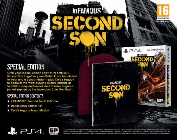 inFamous: Second Son Edición Especial