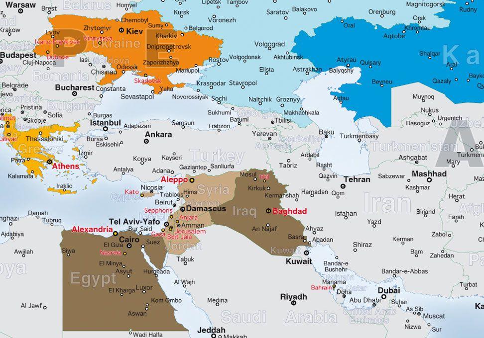 Carte geografiche e Atlanti del mondo da stampare - ediMAP