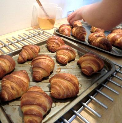 """My"" croissants"