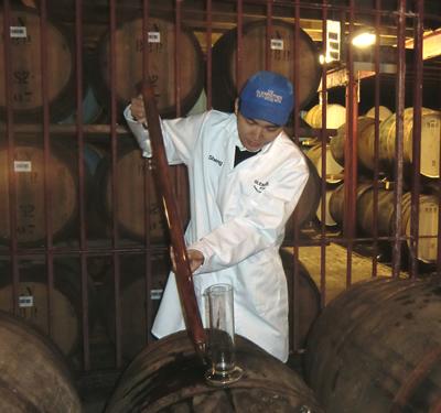 Casking the Whisky
