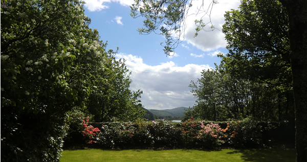 Speyside view from Rothes House
