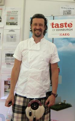 Michael Smith at Taste of Edinburgh