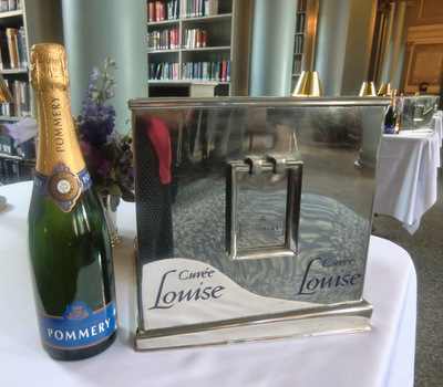 Pommery Champagne Bar at the Signet Library