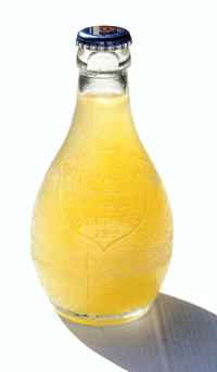 Orangina bottle