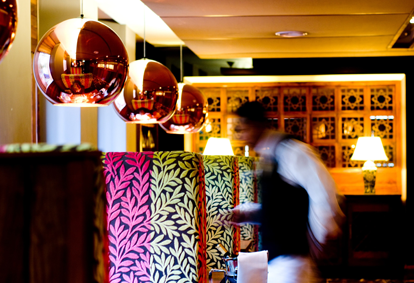 Mithas has a warm and intimate ambiance