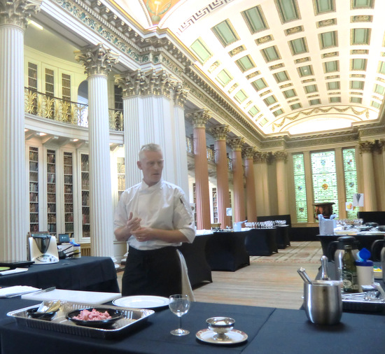 Robbie Gleave at the Signet Library