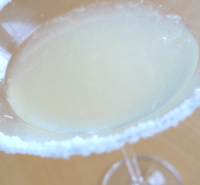 Frozen margaritas are more visually fetching but not as potent as neat ones.