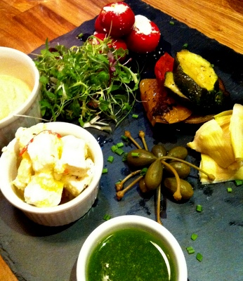 Vegetarian Sharing Platter Stac Polly